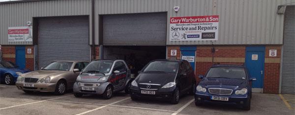 Gary Warburton Mercedes Independent Specialist Qualified